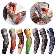 2 шт нейлоновые эластичные поддельные временные татуировочные рукава